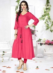 Pr Fashion Designer Kurti For Your Semi-Casual Wear Readymade Kurti