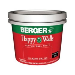 Berger Acrylic Wall Putty, Packaging: 20 Kg