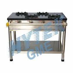 Four Burner Gas Stove Iron Top Plate