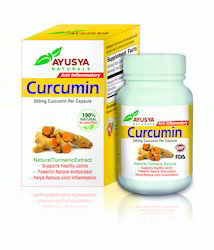 Curcumin Antioxidant Capsules, As Directed By Physician