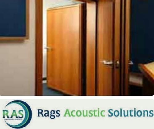 Wooden Acoustic Door & Wooden Acoustic Door Acoustic Door - Rags Acoustic Solutions ...