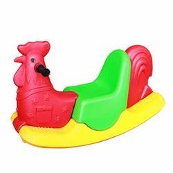 Tri-Color Cock Rider