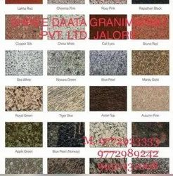 Polished Granite Tiles, Thickness: 10-15 Mm