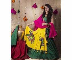 Festive Wear Satin Traditional Lehenga Choli