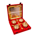 Designer Gold Plated Handi Set