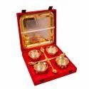 Designer Gold Plated Handi Set