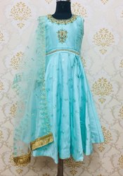 Kids Ethnic Indian Anarkali Suit