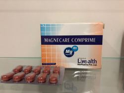 Livealth Magnesium with Vitamin B6 Tablets, Packaging Size: 5 X 10 Tablets