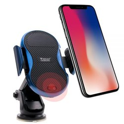 Tech Gear Wireless Car Charger & Automatic Induction Car Mount