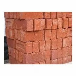 Bricks Construction Red Brick 5 Inch, Size: Normal