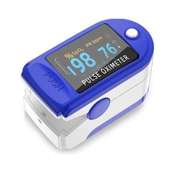 Fingertip Pulse Oximeter Heart Rate Monitors Led Type Pulse Oxygen Meter