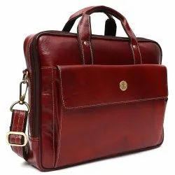 Hammonds Flycatcher Original Bombay Brown Leather 13 inch Laptop Messenger Bag