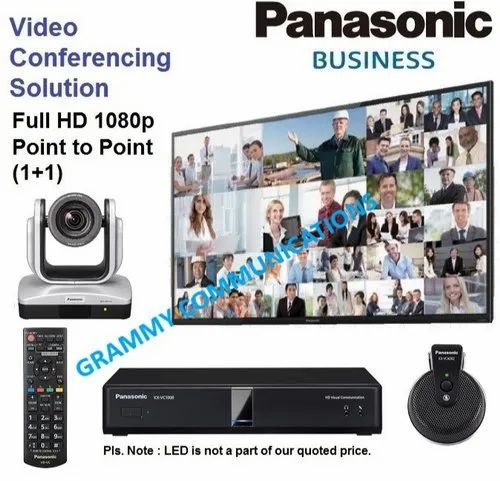 Panasonic Video Conferencing System : Point to Point with 12x Optical Zoom