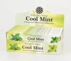 Garden Fresh Premium Hand Rolled Cool Mint Incense Sticks