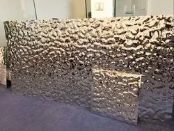 Water Wave Effect Stainless Steel Decorative Sheet