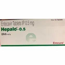 Entecavir Tablets IP 0.5 Mg