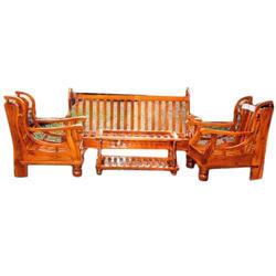 N Model Wooden Sofa Set