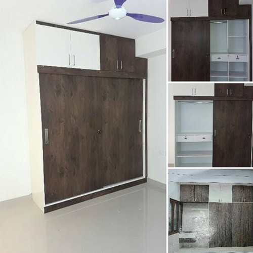 Modern Italian Modular Kitchens Rs 1100 Square Feet: Wooden Sliding Wardrobe Manufacturer