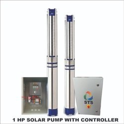1 HP Solar Submersible Pump Combo