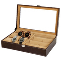 Brown 63 Sunglasses Organizer