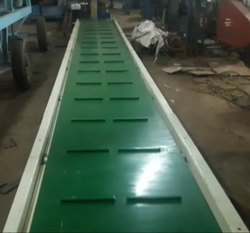 Horizontal Cleated Belt Conveyor