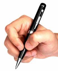 Black And Sliver Hidden HD Pen Camera 1080P