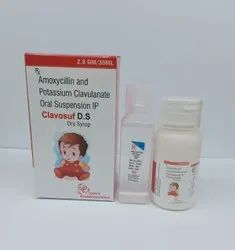 Amoxycillin and Potassium Clavulanate Oral Dry Syrup
