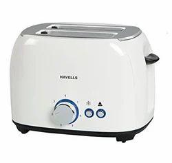 Havells Pop Toaster Crust White 800w
