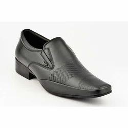 Lee Cooper Shoe 13 1576 Black Formal Moccasin