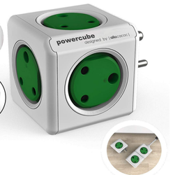 Multi Socket Mild Steel Powercube Original, For Electric Fittings, Cube Shape