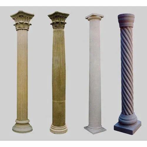 Sand Stone Column