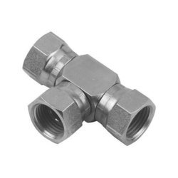 Silver Stainless Steel Tee Connectors