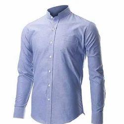 Men's Linen Formal Plain Shirt, Size: S-XL