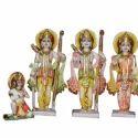 Ram Sita Darbar Marble Statue