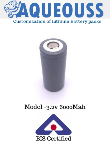 3.2V 6000Mah Rechargeable Lithium Battery