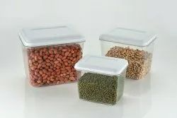 Plastic Plain Kitchen Storage Container, Packaging Type: Box