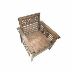 Hari Furniture Antique Wooden Chair, Warranty: 1 Year