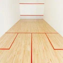 Maple Wooden Squash Court Flooring