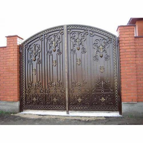 Black Fancy Iron Gate Rs 500 Feet Star Welding Works