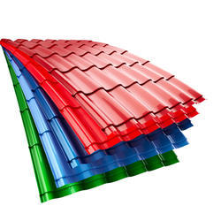 0.35mm Bhushan Color Coated Roofing Sheet