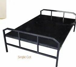 Black Single Cot, Size: O.s : 72