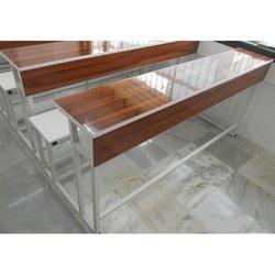 Three Seater School Bench