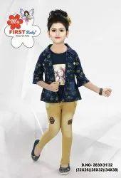 Casual Wear Girl Kids Garments, 18-36