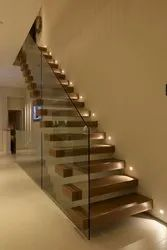 Floating staircase  / Cantilevel Staircase for Banglows & Office