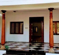 Antique Chetinad  Teak Wooden Pillar
