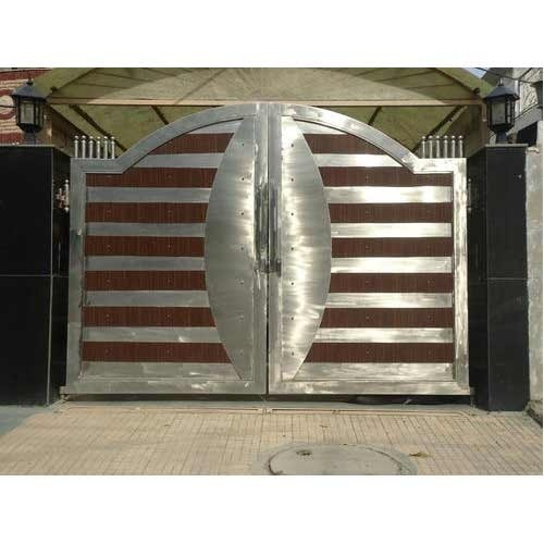 Stainless Steel Security Main Gate Rs 80 Kilogram Yashpal Steel