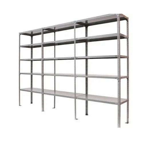 Cast Iron Heavy Duty Slotted Angle Rack for Warehouse
