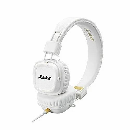 White Marshall Major II Wired Headphones