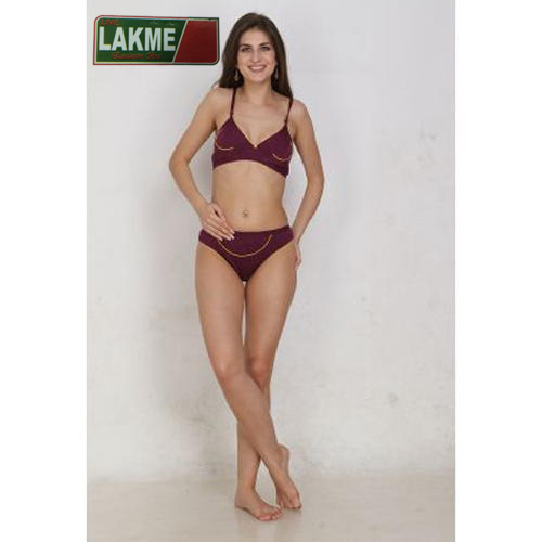 7de212e317 Lycra Cotton Ladies Bra Panty Set