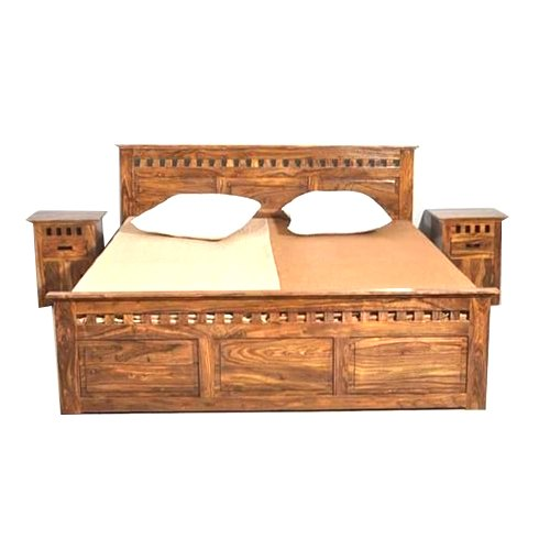 c256a8ed31 Brown Sheesham Wood King Size Double Bed, Rs 30000 /piece, Shree Ram ...